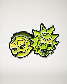 Toxic Rick and Morty Pin