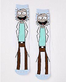 Rick Crew Socks - Rick and Morty