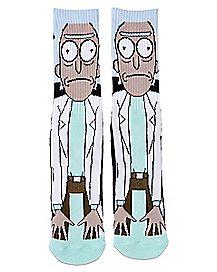 Rick Sanchez Crew Socks - Rick and Morty