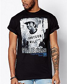 Shotgun Willie Nelson T Shirt