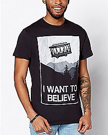 Mr. Rogers I Want To Believe T Shirt