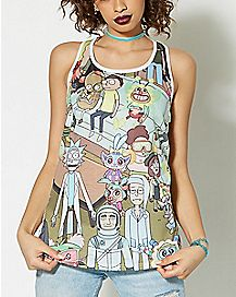 Rick and Morty Tank Top