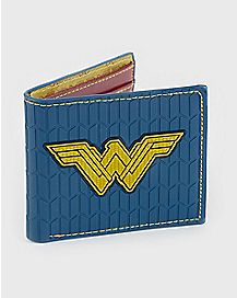 Rubber Wonder Woman Bifold Wallet - DC Comics