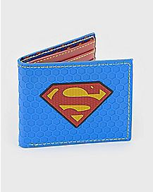 Rubber Superman Bifold Wallet - DC Comics