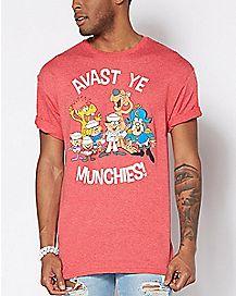 Avast Ye Munchies Captain Crunch T Shirt