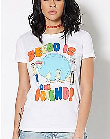 Beebo Is Our Friend T Shirt - Rick and Morty