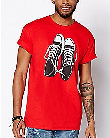 Chucks Kurt Cobain T Shirt