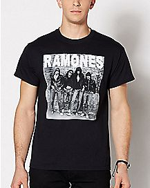 Black and White Ramones T Shirt