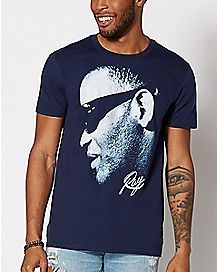 Blue Ray Charles T Shirt