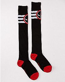 Deadpool Knee High Socks - Marvel
