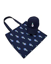 Pineapple Dad Hat and Tote Bag