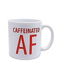 Caffeinated AF Coffee Mug - 22 oz.