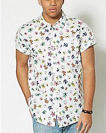 The Grateful Dead Button Down Shirt