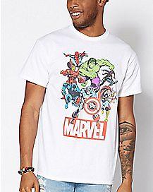 Vintage Avengers T Shirt - Marvel