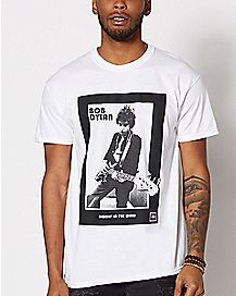 Blowin' in the Wind Bob Dylan T Shirt