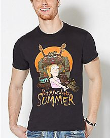 Post Apocalyptic Summer T Shirt - Rick and Morty