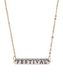 Goldplated Festival Necklace