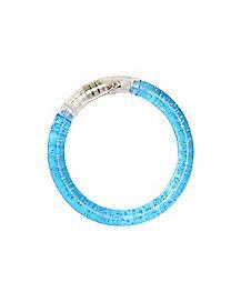 Blue Light Up Bangle Bracelet