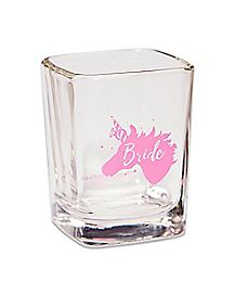 Unicorn Bride Shot Glass - 2.25 oz.