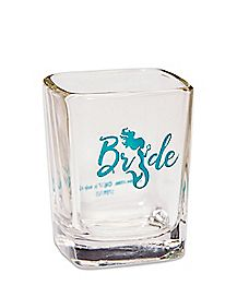 Green Mermaid Bride Shot Glass - 2.25 oz.