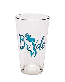 Green Bride Mermaid Pint Glass - 16 oz.
