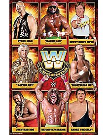 WWE Legends Poster - WWE