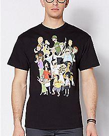 Character Bob's Burgers T Shirt