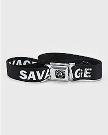 Savage Seatbelt Belt