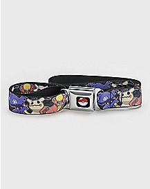 Pokemon Seatbelt Belt