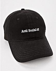 Anti Social AF Dad Hat