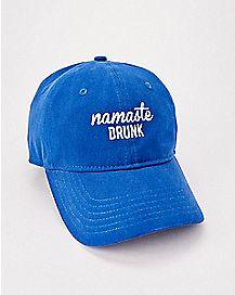 Namaste Drunk Dad Hat