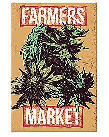 Weed Farmers Market Poster
