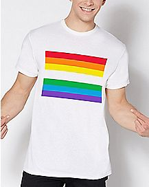Rainbow Flag T Shirt