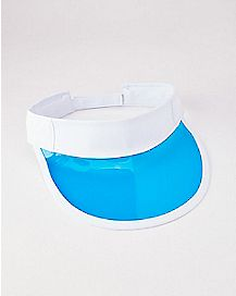 Clear Blue Visor Hat