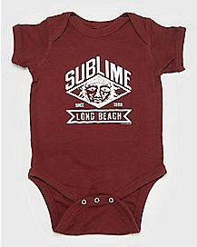 Long Beach Sun Sublime Baby Bodysuit