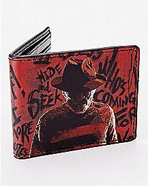 Freddy Krueger Bifold Wallet - Nightmare on Elm Street