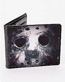 Jason Mask Bifold Wallet - Friday the 13th