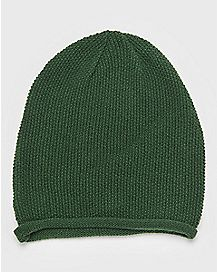 Rolled Beanie Hat