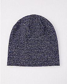 Marled Slouchy Beanie Hat