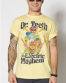 Dr. Teeth And The Electric Mayhem T Shirt - The Muppets