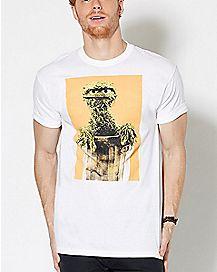 Oscar The Grouch T Shirt - Sesame Street