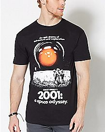 2001 A Space Odyssey T Shirt