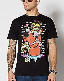 Cheeseburger Scooby Doo T Shirt