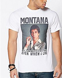 I Always Tell The Truth Scarface T Shirt