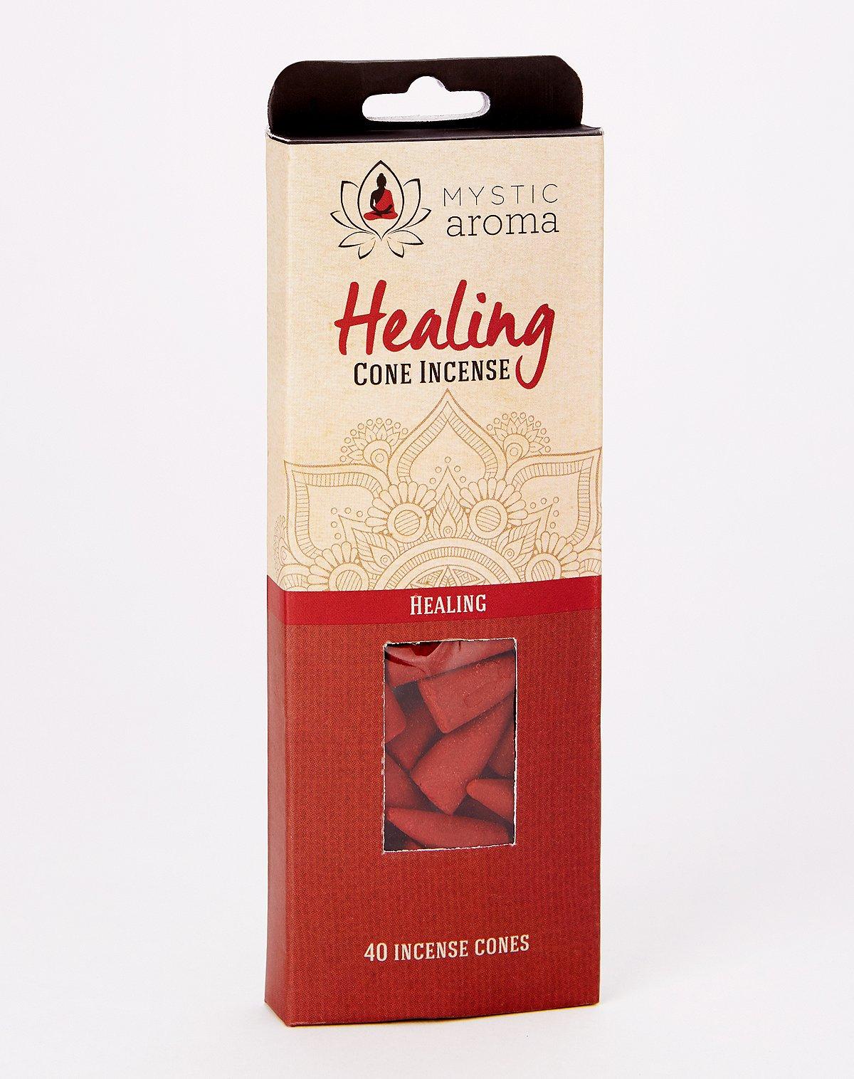 Healing incense cones