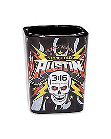 Stone Cold Steve Austin Shot Glass - WWE