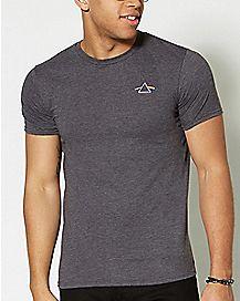Logo Dark Side Of The Moon Pink Floyd T Shirt