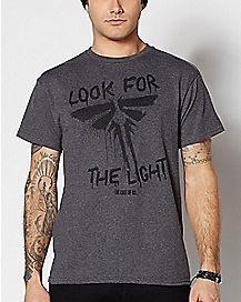 Look For The Light The Last Of Us T Shirt