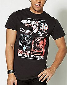 Friday The 13th Part 3 T Shirt