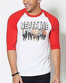 Legends Never Die T Shirt - The Sandlot
